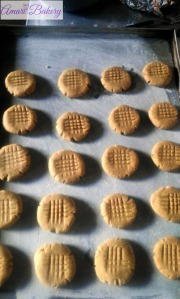 Peanut Butter Cookies ready to bake