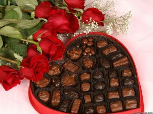 Chocolates and Flowers - you can never go wrong