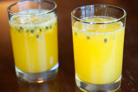 homemade passion juice