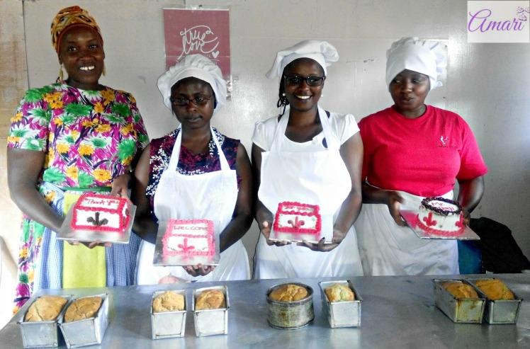 Amari Bakerettes from the February Basic Cake Making & Decoration class