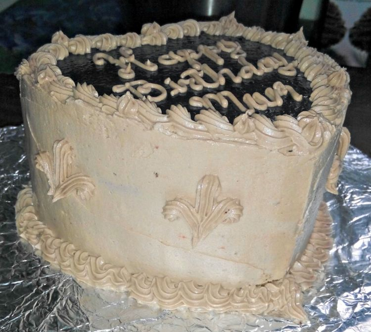 PBnJ Cake side view