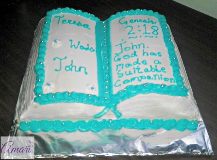 Bible cake - wm