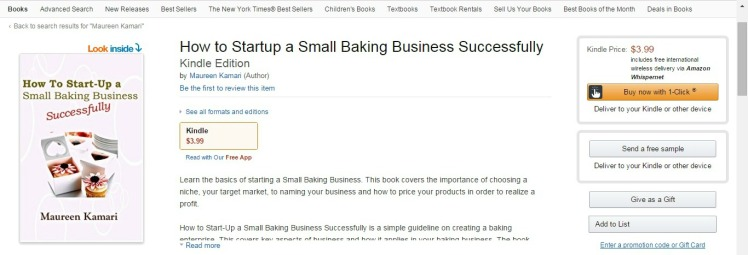 How to startup a small bakery business successfully - prnt scrn Amazon