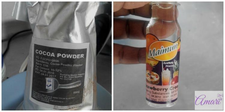 Maimun cocoa and essence - Amari WM
