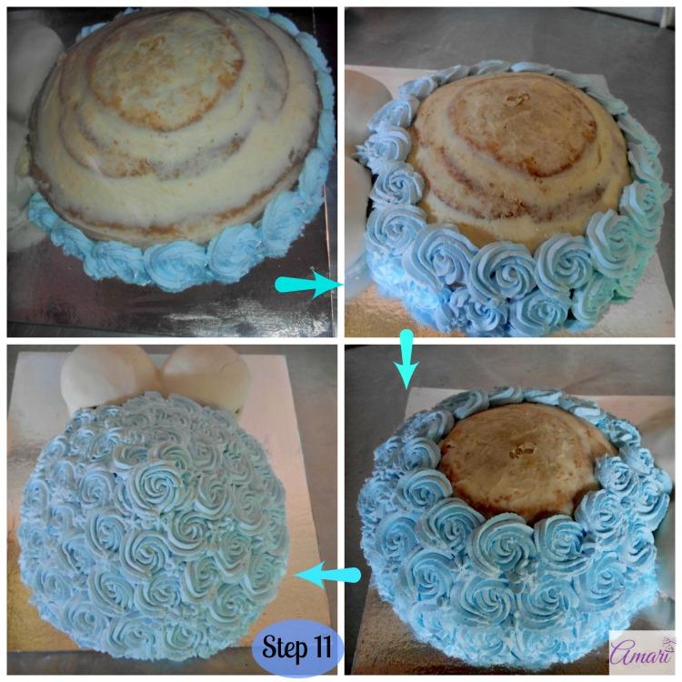 Tummy Blue Rossettes Deco_Step 11 - Amari Recipe