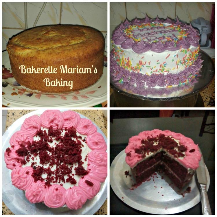 Mariam After class pics _ Amari baking classes