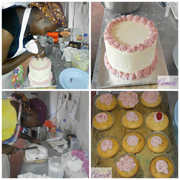 Pauline Basic cake class pictorial_Amari Baking classes
