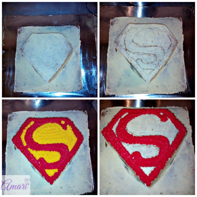 Superman Sign formation pictorial_Amari Blog recipe