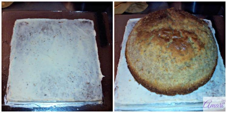 crumb-coating-the-bottom_amari-soccer-ball-cake-tutorial