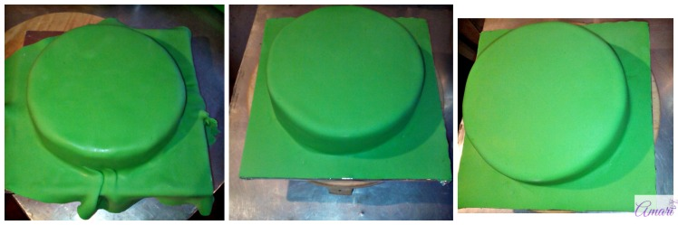 applying-green-fondant-on-the-cake-amari-cake-tutorial-tmnt