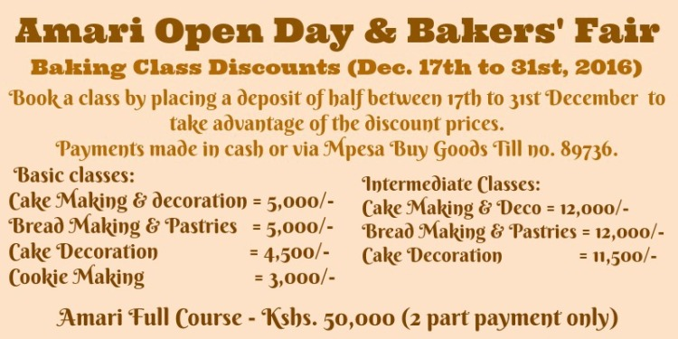 bakers-fair-amari-classes-discounts-poster