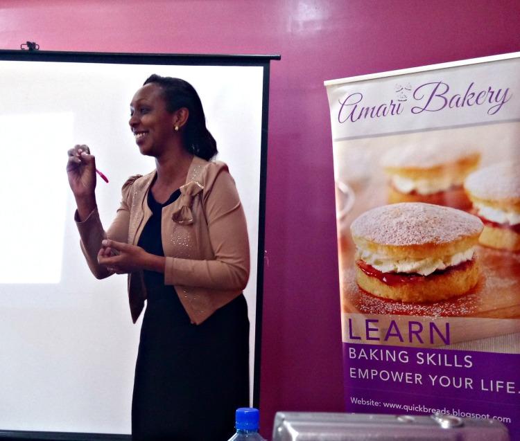 Wanjiku Lucia on entrepreneurship - Amari March masterclass 2017