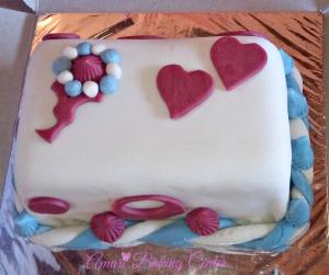 Bertha fondant cake-Amari advanced classes Feb 2017