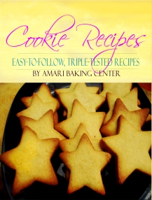 Amari Cookie Recipes Booklet Cover