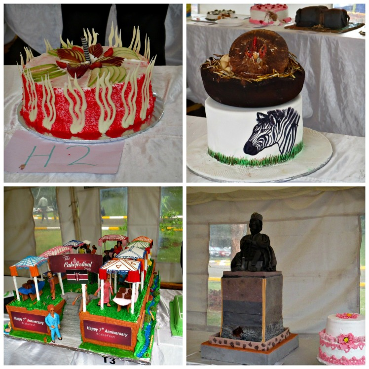 Cake Fes 2016 Pictorial for competition cakes