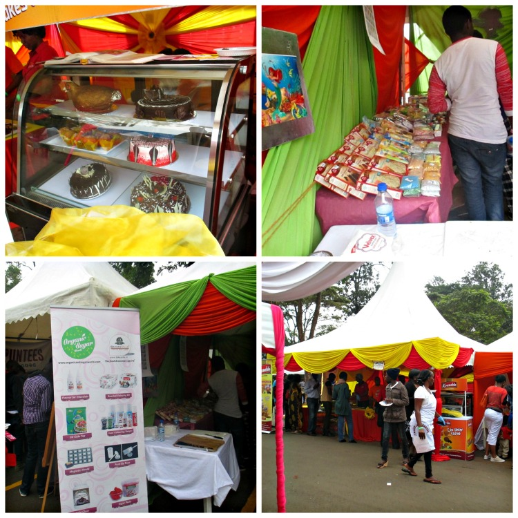 Cake Fest Sample Stands during 2016