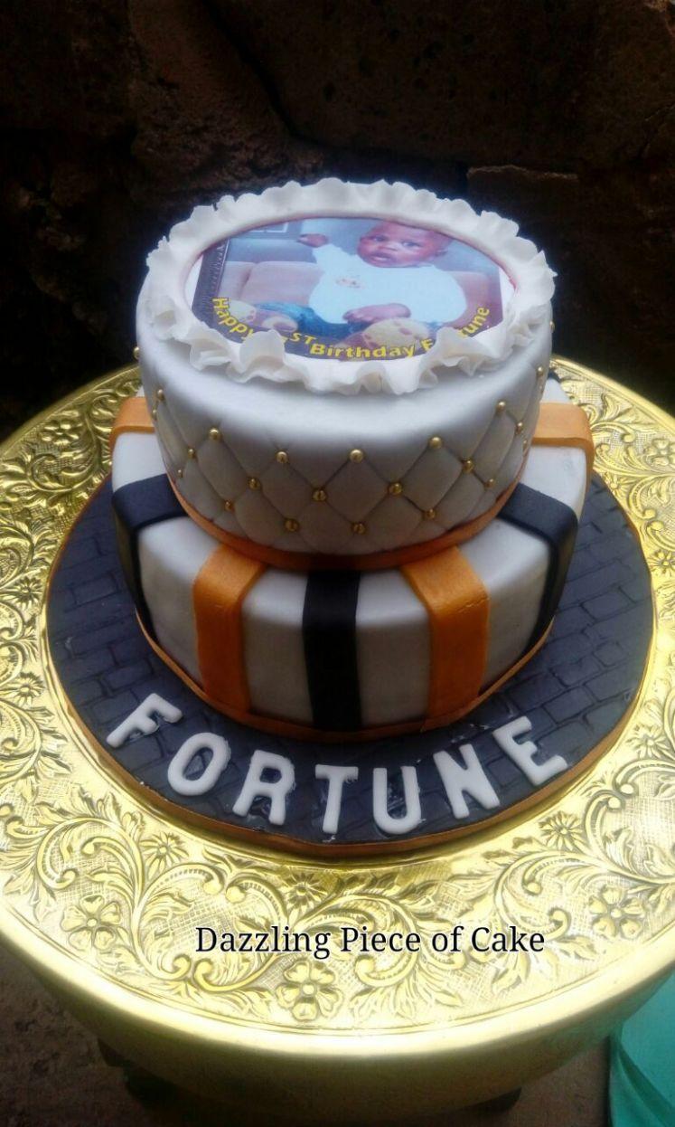 2 tier Judie cake