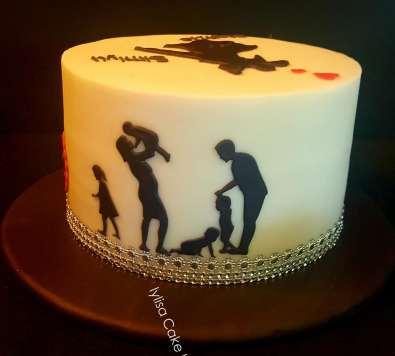 2nd part Lylisa Story cake