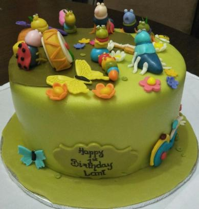 Animal cake by Emily Mbugua - E's and M's Cakes
