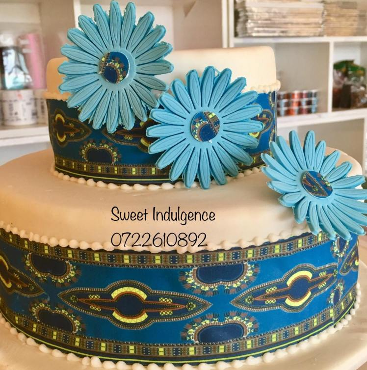 Ankara Cake by Martha - Sweet Indulgence