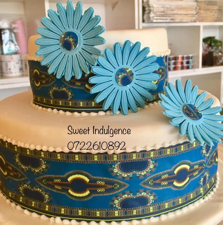 Ankara Cake by Martha - Sweet Indulgence