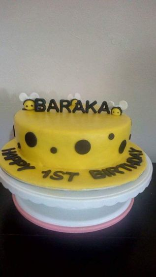 Bee Cake by Beryl - Incredible Cakes
