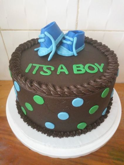 Beryl - its a boy cake