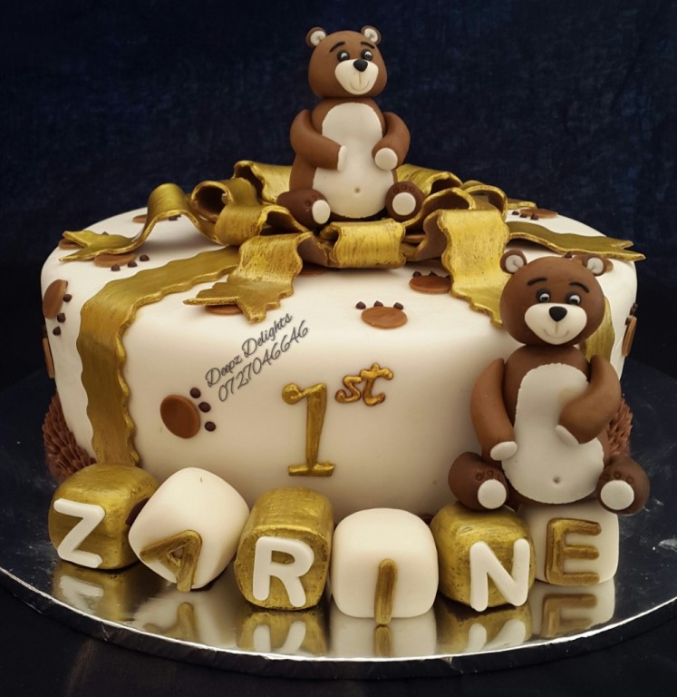 Deepz Teddy Bear Cake