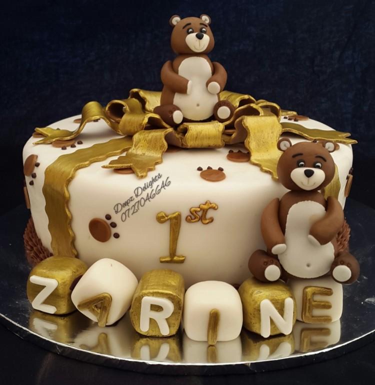 Deepz Teddy Bear Cake