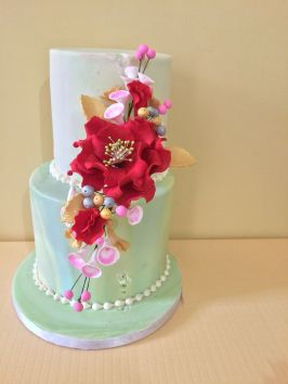 Flower arrangement by Evelyn_sugarcraft