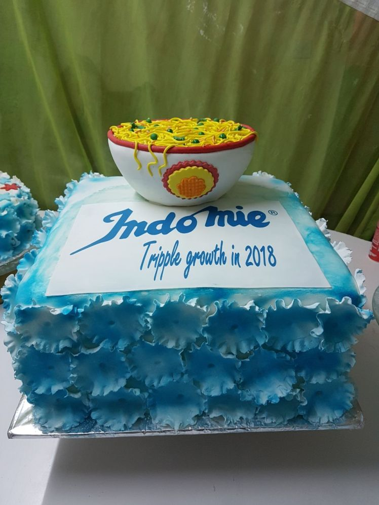 Indomie Noodle cake by Phimar bakers