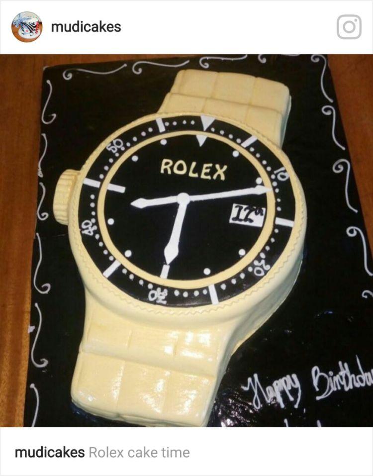 Mudi Cakes - Watch cake IG