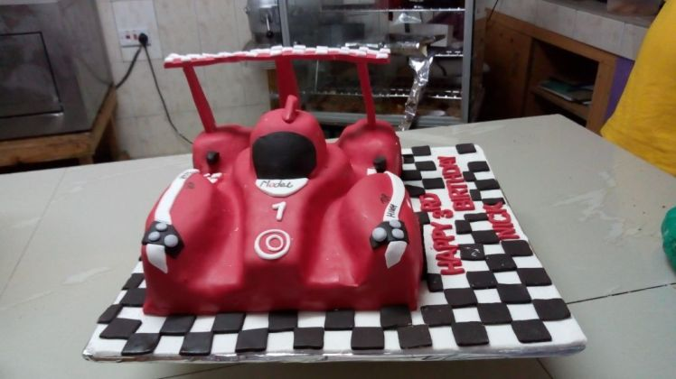 Race Car Cake - The Cake Hub Ny