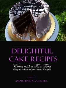 Amari Delightful Cake Recipes Booklet Cover
