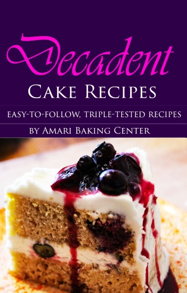 Amari Decadent recipe booklet cover vol 10