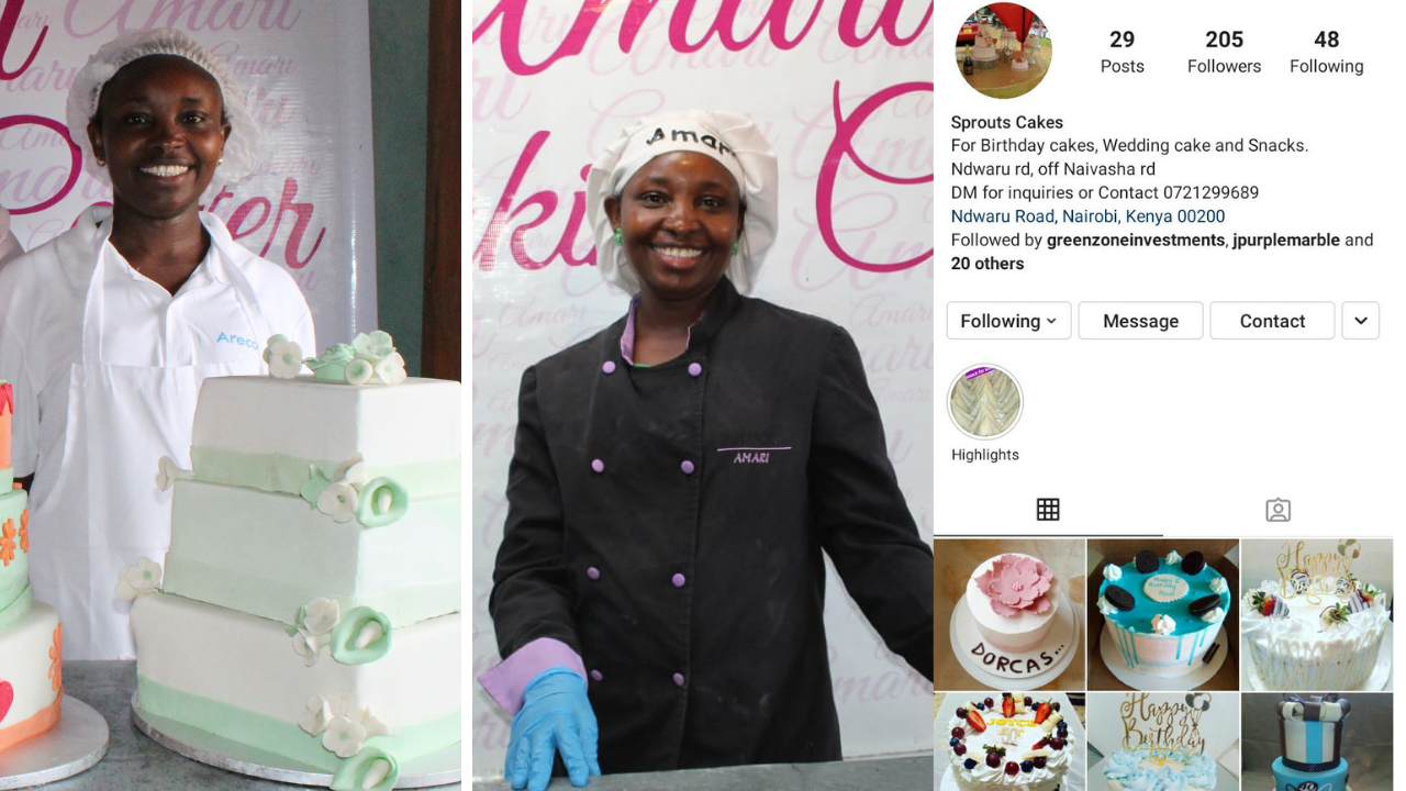Sprouts bakery - Millicent poster feature for site